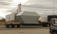 Exhaust Hood for Rotary Dryer