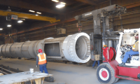 Exhaust Stack for Regenerative Thermal Oxidizer
