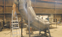 Ductwork for Steel Mill